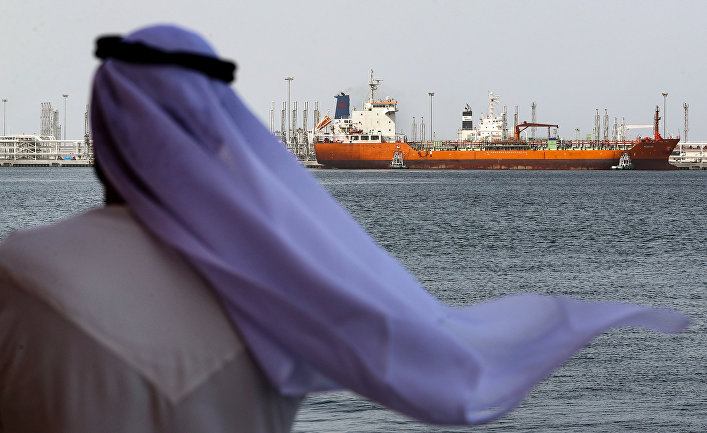 the decline is coming and then the collapse of the Persian Gulf oil empire