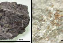 Photo of New organics discovered in famous Martian meteorite