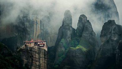 Photo of Sacred peaks: Greek monasteries on steep cliffs
