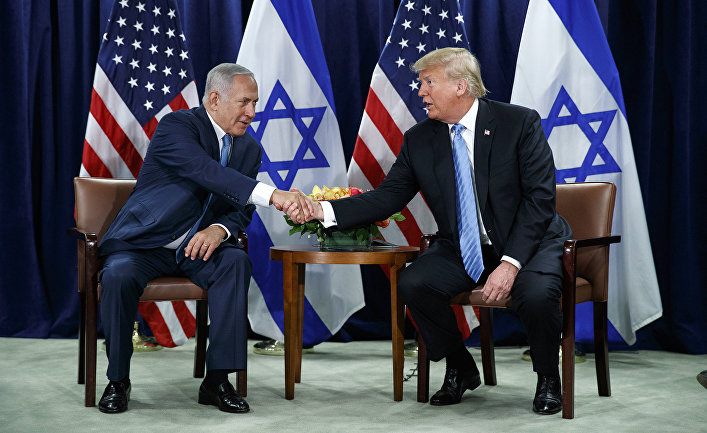 Trump and Netanyahu use a pandemic to realize their dirty plans