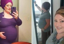 A resident of US claims that she has been pregnant for four years