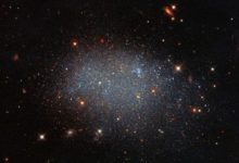 Amazing galaxy isolated itself in a cosmic void