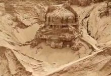 In India found the temple of Shiva missing 80 years ago