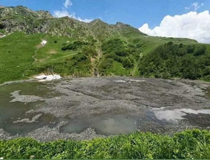 Lake disappears in Sochi 2