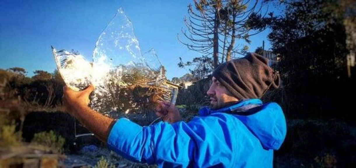 Record cold set in southern Brazil 2
