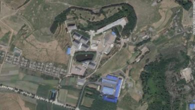 Satellite discovered an unknown nuclear facility near Pyongyang
