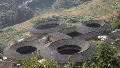 Photo of Stunning Tulou Castle in Japan