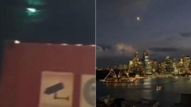 Photo of Meteorite flying in the night sky over Sydney, Australia (VIDEOS)
