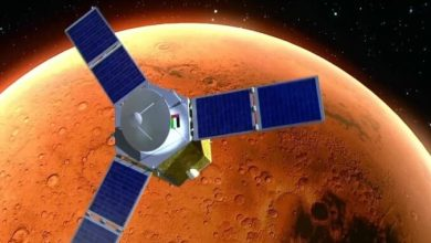 "Photo of UAE sent ""Hope"" space probe to Mars"