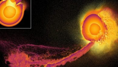Photo of Scientists presented simulations of apocalyptic planetary collisions