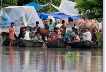 flooding in Assam India