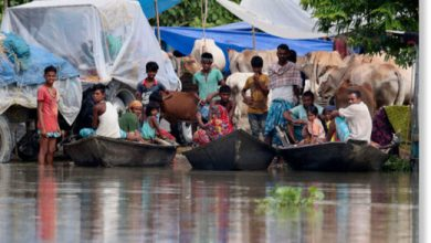 Photo of 4 million people affected by ongoing flooding in Assam, India