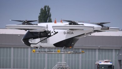 Photo of Flying taxis are tested in Germany