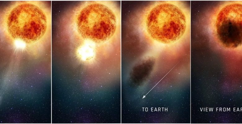 Astronomers have finally figured out what caused Betelgeuses mysterious blackout