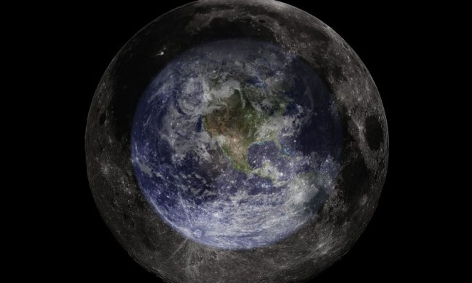 Astronomers use the moon as a giant mirror in search of alien life