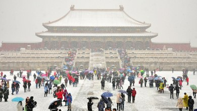 Photo of Summer snow fell in Beijing, China