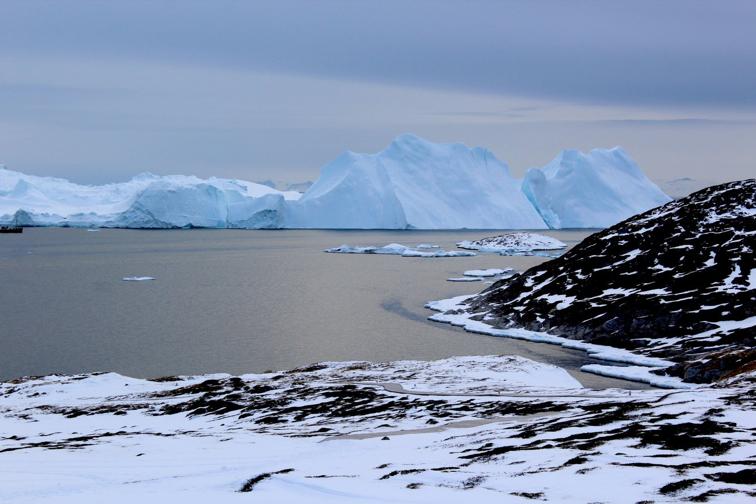 Greenlands glaciers will continue to disappear even if global warming stops