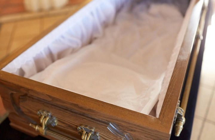 The old woman was resurrected twice at her own funeral