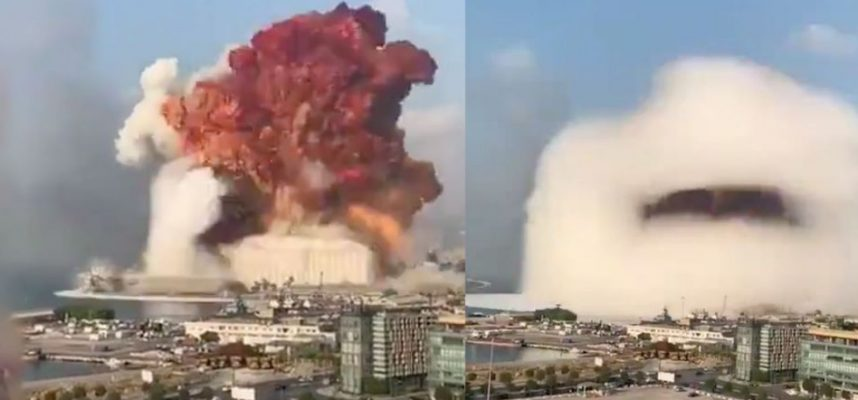 The terrifying explosion in Beirut was not nuclear