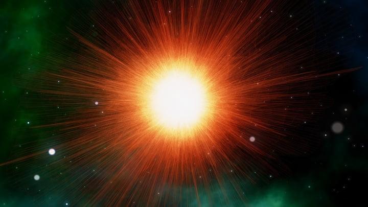 universe explode
