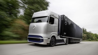 Photo of Hydrogen truck Mercedes-Benz received a power reserve of 1000 km