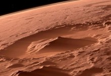 ancient bowls on the surface of Mars