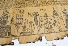 How ancient Egyptians used lead in writing