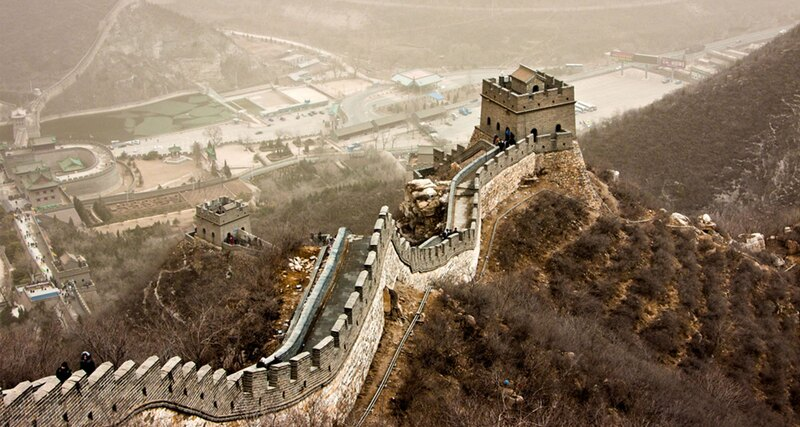 Is the Great Wall of China visible from space