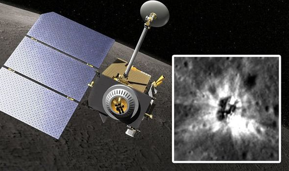 Sensational NASA find unknown object on the moon