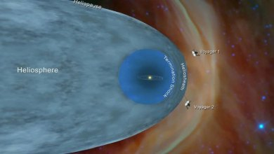 Photo of Voyagers discover denser space outside the solar system