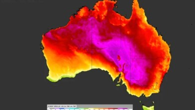 Australia hit by a wave of sweltering heat