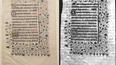 Hidden message found in 15th century manuscript