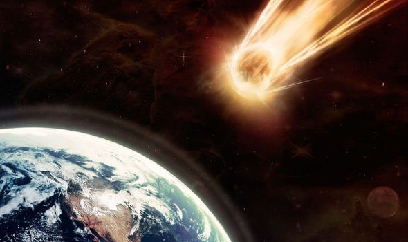 NASA a huge asteroid is approaching the Earth
