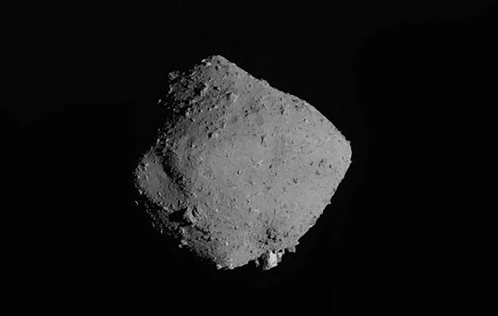 what happened after the explosion on the asteroid Ryugu
