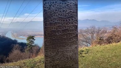 Another mysterious monolith found in Romania