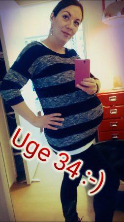 Ordpigen - Gravid uge 34