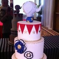 Gâteau de Cirque Vintage de baptême!