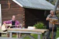 Anders Drugge och Anneli Nillson på Hantverksveckans avslutning.