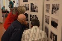 Vernissage, inscannade gamla foton i projektet Upplevelsestigar.