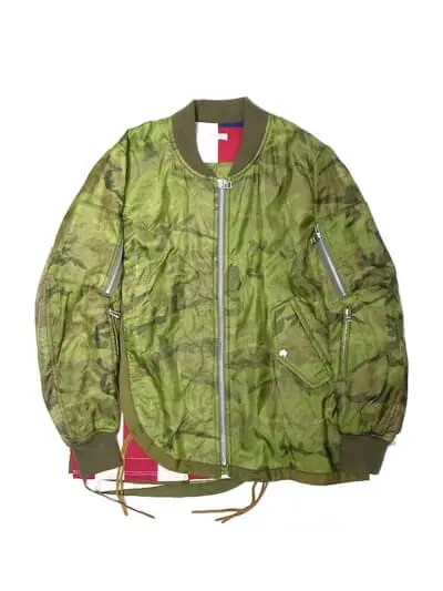 OP-283 F.L FLIGHT JACKET CAMOFLAGE