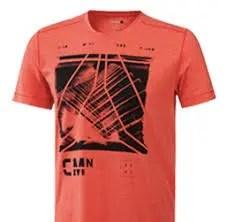 Reebok(リーボック)/ショートスリーブTシャツ(赤色)