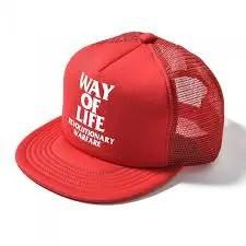 """RATS/MESH CAP """"WAY OF LIFE"""""""
