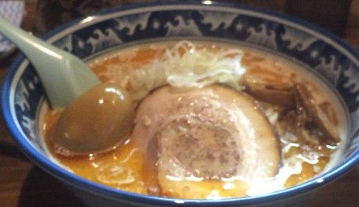 【麺や樽座 子安町店@八王子市】海老×味噌!食欲そそる絶妙コラボ