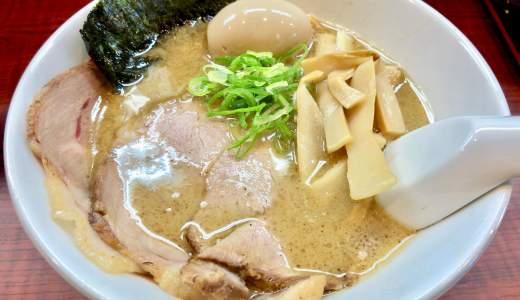 【快晴屋@甲府市】強めの魚介と豚骨のブレンドスープがオススメ麺
