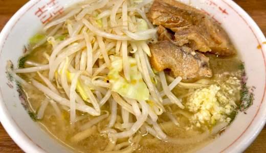 【ラーメン二郎 品川店@品川駅】スープから肉まで豚の旨味が怒涛の如く