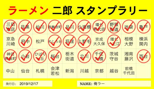 東京都内「ラーメン二郎」一覧。全店比較や特徴・オススメランキング