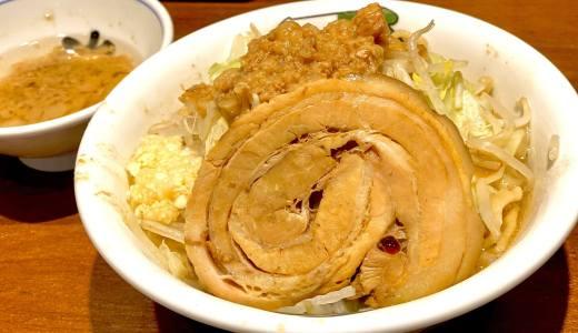 【ラーメン 雷 東京本丸店@東京駅】中華蕎麦とみ田の二郎系がめちゃ美味い!