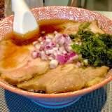 【麺や べらぼう@東銀座一丁目】正統派で優秀な淡麗煮干しを手揉み麺で頂く