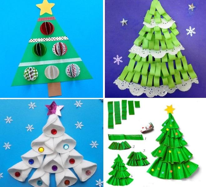 Apliques del árbol de navidad