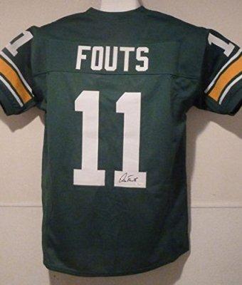 Dan-Fouts-Autographed-Oregon-Ducks-Size-XL-Green-Jersey-JSA-0